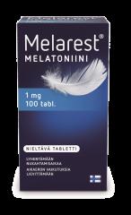 MELAREST MELATONIINI NIELTÄVÄ 1 MG 100 TABL