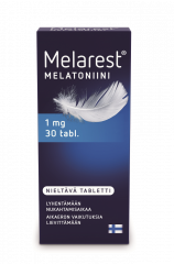 MELAREST MELATONIINI NIELTÄVÄ 1 MG 30 TABL