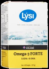 LYSI OMEGA-3 FORTE 64 KAPS