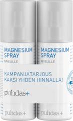 Puhdas+ Magnesium Spray Nivel TUPLA PAKK X2x150 ml