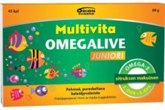 MULTIVITA OMEGALIVE JUNIORI 45 geelitabl